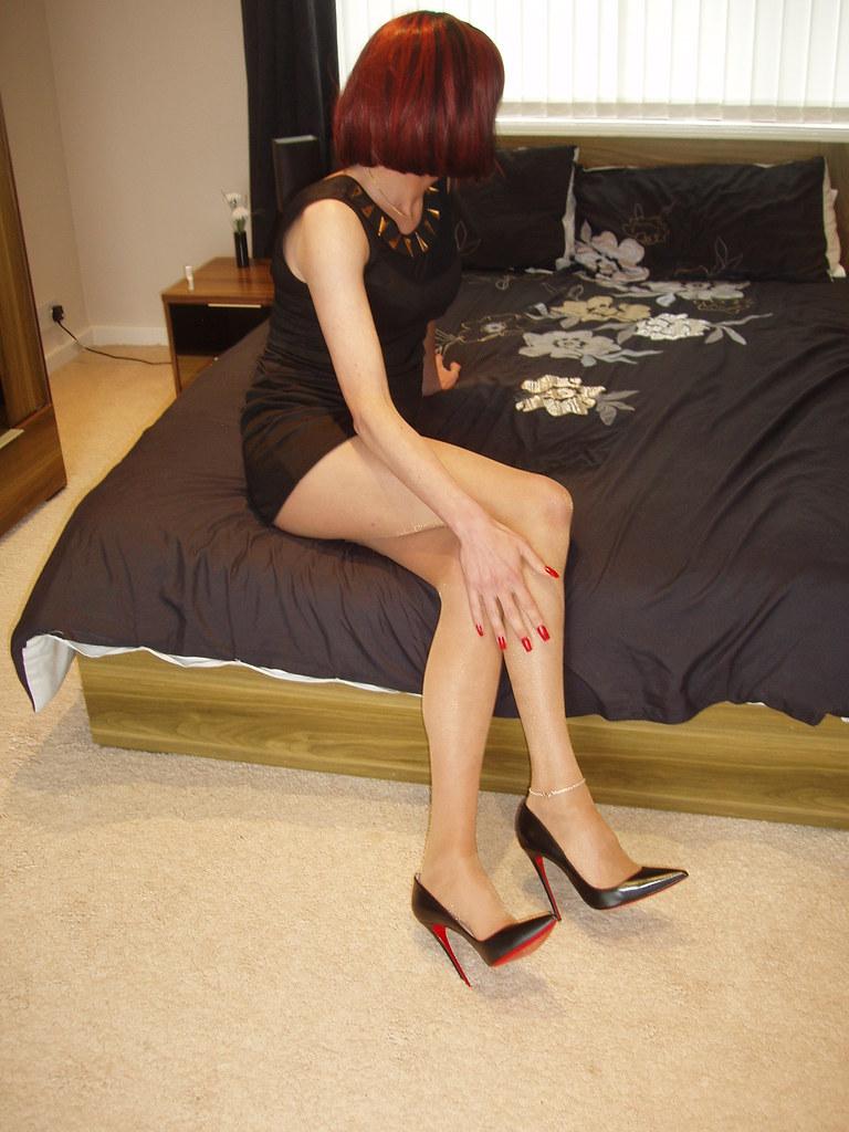 heels nylon tg sex