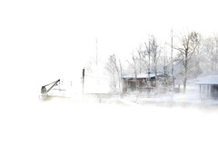 January sea fog at -20°C (Harakka island, Helsinki, 20160106) (RainoL) Tags: winter sea snow ice finland geotagged helsinki frost january balticsea helsingfors fin ullanlinna seashore suomenlinna sveaborg harakka seasmoke 2016 uusimaa brunnsparken nyland frostsmoke kaivopuistonranta steamfog 201601 d5200 storaräntan geo:lat=6015378778 geo:lon=2495544433 20160106