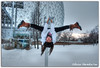 Ice Pole (Olivia Heredia) Tags: parcjeandrapeau quebec montréal cánada québec montreal canada nieve pole poledancing ice glaciar hielo oliviaheredia hdr highdynamicrange 1exp tonemapping tonemapped oliviaherediaotero