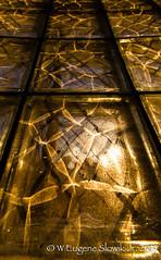 Sunset through glass block 20160129 -02 (weslowik) Tags: sunset esoteric 2015
