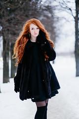 Anna (KirillSokolov) Tags: winter portrait snow girl russia redhead fujifilm ru fujinon портрет россия 56mm зима снег кирилл рыжая девушка ivanovo соколов 5612 xt1 mirrorless иваново porusski фуджи kirillsokolov2016