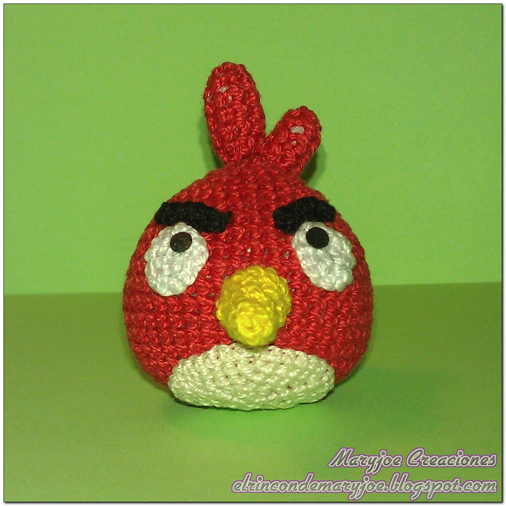 Amigurumi Panda Rojo : The Worlds Best Photos of amigurumi and angrybirds ...
