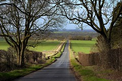 Down the road to Odsey (Jayembee69) Tags: road england landscape countryside country hertfordshire herts kelshall odsey