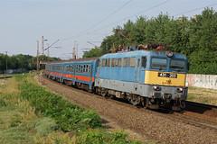 431203 Debrecen/Hungary (Gridboy56) Tags: railroad electric train hungary trains locomotive railways locomotives mav debrecen szolnok 431 zahony 431203