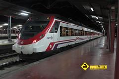 Tren Cercanías Madrid Barajas (vivireltren) Tags: madrid tren t4 barajas cercaniasmadrid