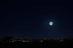 Esperimenti malriusciti (dea.vero) Tags: moon rome roma night experiments earlymorning suburbia luna late periferia notte bigcity 5am bigcitylife lunghezza castelverde romacitteterna
