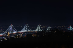 you'll know you've arrived (pbo31) Tags: sanfrancisco california bridge winter motion black color night dark nikon view over january baybridge bayarea bernalheights 80 2016 lightstream boury bernalhillpark pbo31 westernspan d810 baylights
