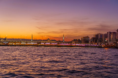 DSC05241 (Orhan Kılıç) Tags: blue sunset sea sky water skyline clouds turkey landscape seaside waterfront outdoor istanbul shore eminönü sonysel35mmf18 sonya6000