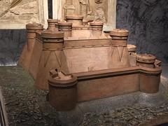Leonardo's fortress (Matt From London) Tags: model davinci walls leonardo defensive fortress sciencemuseum castel