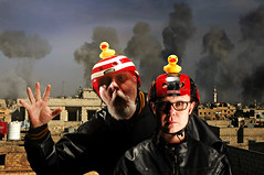 The Rubber Duck Daredevil Squadron prepares to perform a Disasterously Dumb Demonstration on the Rooftops of Damascus (Studio d'Xavier) Tags: danger d 365 alphabet damascus alphabetty 35366 werehere therubberduckdaredevilsquadron disfordangerduckdaredevilanddamascus february42016