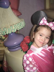 Welcome to Minnie's house (Sim-tov) Tags: california vacation portrait holiday disneyland chanukah dec surprise anaheim noa 2015
