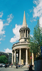 All Souls Langham Place, Exterior (Matthew Huntbach) Tags: london church w1 anglican allsouls langhamplace
