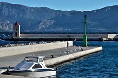Port of Postira (roksoslav) Tags: morning nikon croatia bora dalmatia bra 2015 postira jutro bura afsnikkor70300mmf4556vr d5100