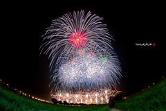 2016-2-20 (Tainan International Fireworks Show) ((Su Bo-An)) Tags: show new city nikon fireworks district year taiwan 8 newyear fisheye international 02 newyears years 20 tainan 8mm  annan  tainancity  2016 fireworksshow   samyang   0220        annandistrict 201602 d3100    internationalfireworksshow  20160220