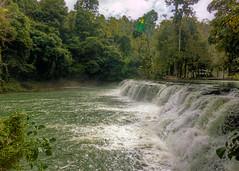 Tinuy-an Falls - First Level (allansoul) Tags: vacation view philippines falls waterfalls views ultrawide hdr surigao surigaodelsur tinuyan bislig tokina1116 surigaosur