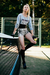 MATCH POINT (mrksaari) Tags: summer sports fashion finland helsinki model tennis d750 editorial adidas 50mmf14g