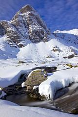 Oh Larsen B (pauldunn52) Tags: snow west rock scotland sandstone stream north an sail icicles mhor teallach