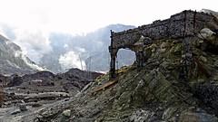 White Island sulphur processing factory (JayVeeAre (JvR)) Tags: rock island vent volcano ruins rocks steam crater ash volcanic eruption volcanicrock volcanicash ruinedfactory igenous picasa3 johnvanrooygmailcom johnvanrooy gimp28 canonpowershotsx60hs johannesvanrooy httpwwwflickrcomphotosjayveeare httpwwwpanoramiocomuser1363680 httppicasawebgooglecomjohnvanrooy ©2016johannesvanrooy