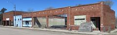 Old Storefront Block (Miller, Nebraska) (courthouselover) Tags: nebraska ne miller buffalocounty downtowns