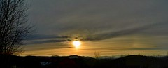2016_0409Sunset-Pano0001 (maineman152 (Lou)) Tags: sunset sky panorama sun nature clouds landscape spring maine april settingsun naturephotography landscapephotography naturephoto springsky