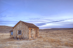Home On The Range (gpa.1001) Tags: california nikon dusk ghosttown bodie hdr owensvalley ca395 d700