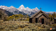 2015 09 Fine Art - The National Parks 079 Grand Tetons - Autumn Log Cabin Chapel (Deremer Studios) Tags: desktop sunset wallpaper night landscape photography grandcanyon unitedstatesofamerica fineart scenic arches astrophotography yellowstone rockymountains hd wyoming grandtetons nationalparks grandtetonsnationalpark 1080p deremerstudios