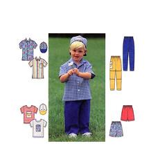 Simplicity 7994 Boys Clothing Sewing Patterns (FindCraftyPatterns) Tags: boys hat pants baseball shirts simplicity trousers shorts tshirts toddlers tops ballcap sewingpatterns 7994 simplicity7994toddlerboybuttonfrontshortsleeveshirt pullontaperedpantsorelasticwaistshorts tshirtsize1212uncut