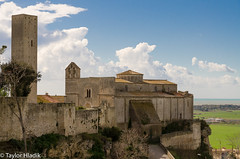 The church of Santa Maria di Castello, Tarquinia, Italy (TaylorH22) Tags: italy other nikon flickr tarquinia 1685 d7000
