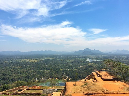 At the top of Sigiriya Rock Fortress #srilanka #matale #wanderjinn #wanderlust