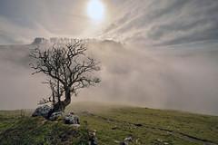 Fading Away (Andrew Mowbray) Tags: mist peakdistrict limestone staffordshire whitepeak peakdistrictnationalpark wolfscotedale riverdove coldeaton walkinginstaffordshire irontor