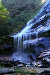 Bridal Veil Falls Base 1 (Serge W) Tags: bluemountains bridalveilfalls leura