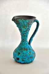 CYCLOPE - ECUME de MER (dekker@dekker) Tags: france lava ceramics fat vase pottery vaas keramiek cyclope vallauris volcanicglazes