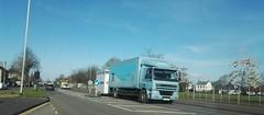 Holmes Fairs,Gorseinon (Woolfie Hills) Tags: fairs lorry holmes j1 daf weh penllergaer