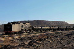 I_B_IMG_6333 (florian_grupp) Tags: china railroad train landscape asia mine desert muslim railway steam xinjiang mikado locomotive coal js steamlocomotive 282 opencastmine sandaoling