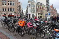 Bikes Galore (Davydutchy) Tags: holland netherlands amsterdam canal capital hauptstadt nederland paysbas niederlande gracht hoofdstad