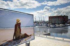 Playa imaginaria (Juan Pedro Barbadillo) Tags: puerto harbour metaphotography sunnyday streetphotograhy dasoleado metafotografa