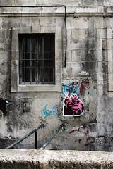 bouche (nicouze) Tags: street streetart france art wall poster tag graph mur avignon affiche nicouze