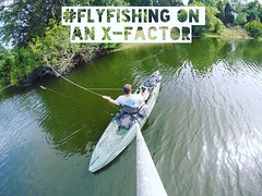 Another reason to get in a Malibu: #flyfishing on a X-Factor #MalibuKayaks #kayakfishing #fishingislife