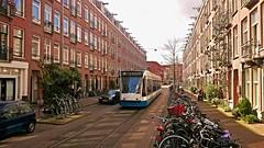 Klassieker- De 117e en laatste verjaardag van lijn 10 (Peter ( phonepics only) Eijkman) Tags: city holland netherlands amsterdam transport nederland tram rail rails trams strassenbahn noordholland gvb tramtracks streetcars combino nederlandse