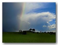 Aprilwetter (Gerhard Kogler) Tags: sterreich april niedersterreich regen regenbogen sonnenschein aprilwetter piestingtal wetterfront wetterwechsel schneewolken dreistetten