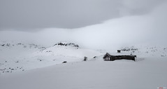 Cabin in the white... (bent inge) Tags: winter ski norway march skiing whitemountains telemark haukeli 2016 vinje haukelifjell norwegianmountains norwegianwinter bentingeask