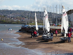 Going sailing (dramadiva1) Tags: sea club boats seaside healthy sailing exercise tide sails hobby crew yachts preparation rigging exmouth pastime