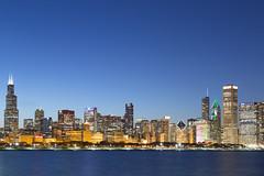 Chicago. (Rares M. Dutu) Tags: city longexposure blue lake chicago color love beautiful beauty canon relax eos golden exposure adler windy lakemichigan hour planetarium relaxation hue goldenhour chicagoskyline 6d chicagoillinois adlerplanetarium 24105 chicagocity canon6d