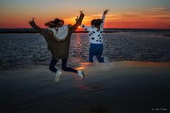 Puesta de Sol (JLCB PHOTO) Tags: sol de mar retrato playa arena puesta meca caños