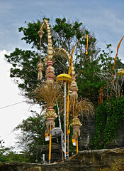 Lovely decorations in Tanah Lot (rainy city) Tags: decorations bali indonesia tanahlot
