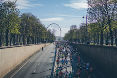 Maratn de Pars (DavidGorgojo) Tags: paris france marathon francia maratn parismarathon maratndeparis parismarathon2016