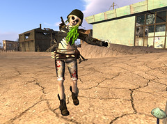 It's Ghoulish Day!14-Terrenn (grady.echegaray) Tags: avatar secondlife movies psychedelic zombies yellowsubmarine thebeatles postapocalyptic ghouls digitalfashion redfestival tentrevival virtualfashion