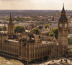 Big Ben. (S.S82) Tags: uk trip travel england london clock nature skyline unitedkingdom structures londoneye bigben falls clocktower gb westminsterbridge ss82