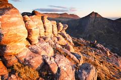 7 Dwarfs Sunbathing (svensl) Tags: sunset walking scotland highlands rocks scottish schottland dwarfs