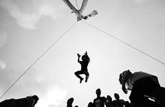 Flying - Mukah, Sarawak (Chot Touch) Tags: travel sport blackwhite explorer streetphotography sarawak borneo mukah fotojalanan tibow pestakaulmukah kaulmukah